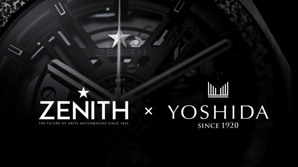 YOSHIDA : ZENITH DEFY INVENTOR YOSHIDA SPECIAL EDITION